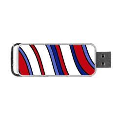 Decorative Lines Portable USB Flash (Two Sides)