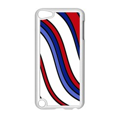 Decorative Lines Apple iPod Touch 5 Case (White)