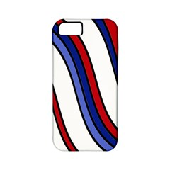 Decorative Lines Apple iPhone 5 Classic Hardshell Case (PC+Silicone)