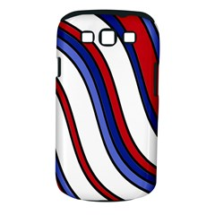 Decorative Lines Samsung Galaxy S III Classic Hardshell Case (PC+Silicone)