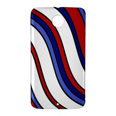 Decorative Lines Nexus 6 Case (White)