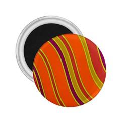 Orange lines 2.25  Magnets