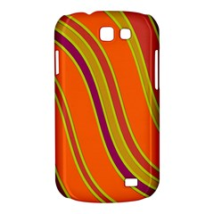 Orange lines Samsung Galaxy Express I8730 Hardshell Case