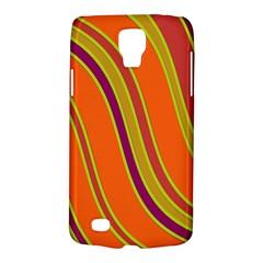 Orange lines Galaxy S4 Active