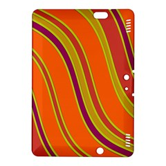 Orange lines Kindle Fire HDX 8.9  Hardshell Case