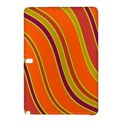 Orange lines Samsung Galaxy Tab Pro 10.1 Hardshell Case