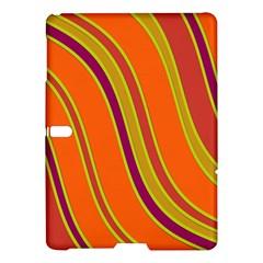 Orange lines Samsung Galaxy Tab S (10.5 ) Hardshell Case