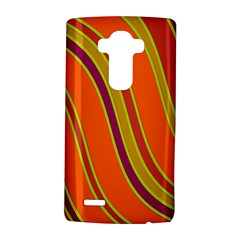 Orange lines LG G4 Hardshell Case
