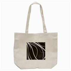 Black and white elegant design Tote Bag (Cream)