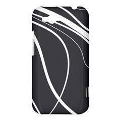 Black and white elegant design HTC Rhyme