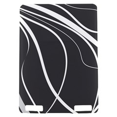 Black and white elegant design Kindle Touch 3G