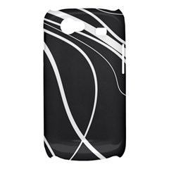 Black and white elegant design Samsung Galaxy Nexus S i9020 Hardshell Case