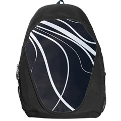 Black and white elegant design Backpack Bag
