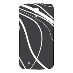 Black and white elegant design Samsung Galaxy Mega I9200 Hardshell Back Case