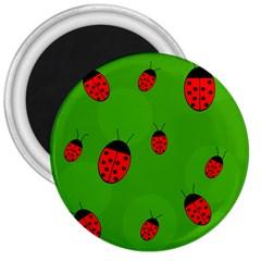 Ladybugs 3  Magnets