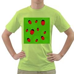 Ladybugs Green T-Shirt