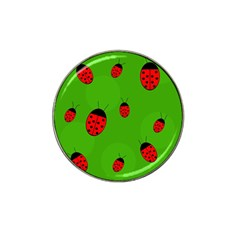 Ladybugs Hat Clip Ball Marker (10 pack)
