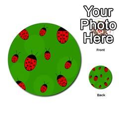 Ladybugs Multi-purpose Cards (Round)