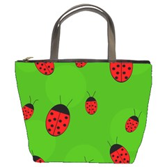 Ladybugs Bucket Bags