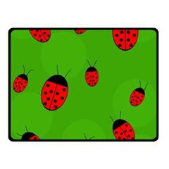 Ladybugs Fleece Blanket (Small)