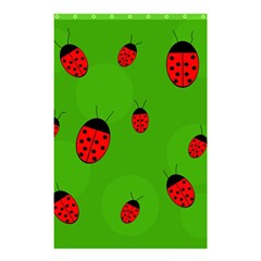 Ladybugs Shower Curtain 48  x 72  (Small)