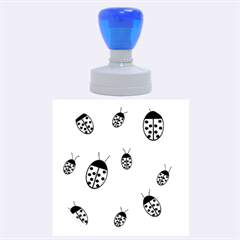 Ladybugs Rubber Round Stamps (Large)