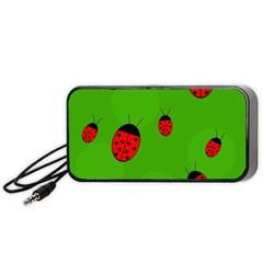 Ladybugs Portable Speaker (Black)