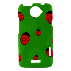Ladybugs HTC One X Hardshell Case