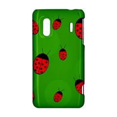 Ladybugs HTC Evo Design 4G/ Hero S Hardshell Case