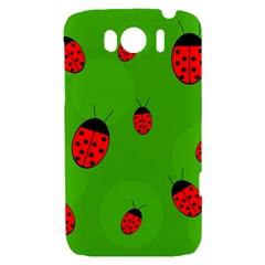 Ladybugs HTC Sensation XL Hardshell Case