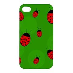 Ladybugs Apple iPhone 4/4S Premium Hardshell Case