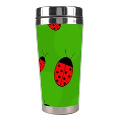 Ladybugs Stainless Steel Travel Tumblers