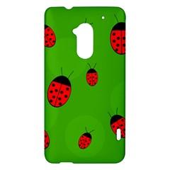 Ladybugs HTC One Max (T6) Hardshell Case