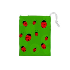 Ladybugs Drawstring Pouches (Small)