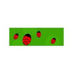 Ladybugs Satin Scarf (Oblong)