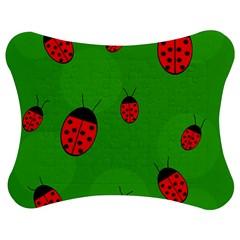 Ladybugs Jigsaw Puzzle Photo Stand (bow)