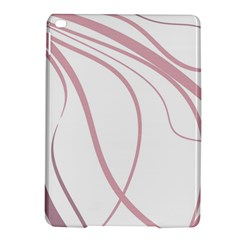 Pink elegant lines iPad Air 2 Hardshell Cases