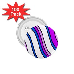 Purple Lines 1.75  Buttons (100 pack)