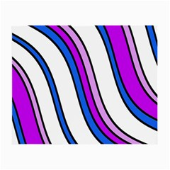 Purple Lines Small Glasses Cloth (2-Side)