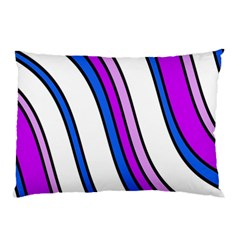 Purple Lines Pillow Case (Two Sides)