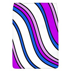 Purple Lines Flap Covers (S)