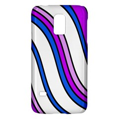 Purple Lines Galaxy S5 Mini