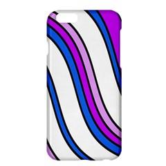 Purple Lines Apple iPhone 6 Plus/6S Plus Hardshell Case