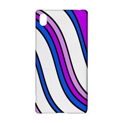 Purple Lines Sony Xperia Z3+