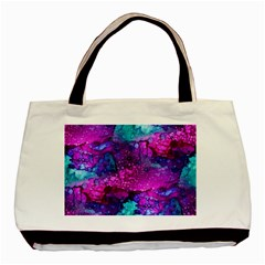 Melting In Purple Basic Tote Bag (Two Sides)