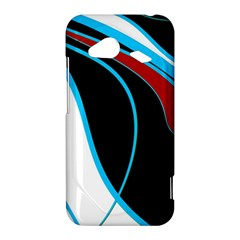 Blue, Red, Black And White Design HTC Droid Incredible 4G LTE Hardshell Case