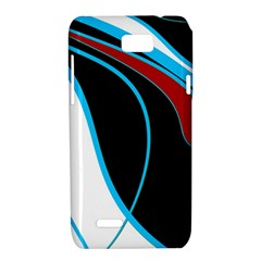 Blue, Red, Black And White Design Motorola XT788