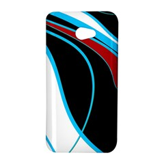 Blue, Red, Black And White Design HTC Butterfly S/HTC 9060 Hardshell Case