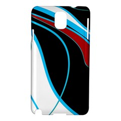 Blue, Red, Black And White Design Samsung Galaxy Note 3 N9005 Hardshell Case