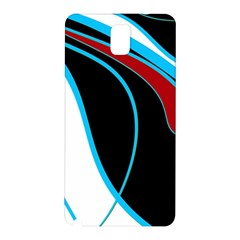 Blue, Red, Black And White Design Samsung Galaxy Note 3 N9005 Hardshell Back Case